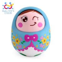 音乐不倒翁玩具点头娃娃宝宝早教儿童婴儿玩具0-1-3岁