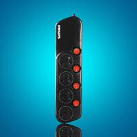 飞利浦插座 SPS3420C/94 一体芯插排4位分控排插拖线板插板新国标电源接线板