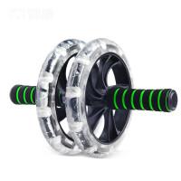 双轮腹肌轮健腹轮器滚轮巨轮家用健身轮锻炼运动器材
