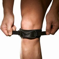 LP欧比双重加压髌骨带581 专业护膝跑步健身户外运动束带髌骨护具单只