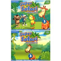 剑桥 3-6岁幼儿英语 Super Safari Level 3 Pupil's Book with DVD-ROM+Activity Book 学生套装