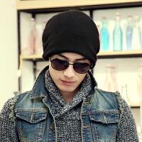 帽子男女士秋冬季户外 套头帽 骑车保暖棉帽子时尚个性 包头帽子 均码有弹力