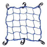 自行车摩托车装备行李网绳 网兜山地车捆绑网 橡皮筋塑料松紧网