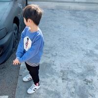 男童卫衣新款秋装男小童春秋 儿童上衣长袖T恤潮童装