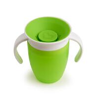 【网易考拉】喝水神器Munchkin 满趣健 儿童水杯 360度不漏水带把手魔术学饮杯 207毫升