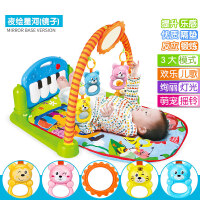 男孩婴儿玩具健身架摇铃0-3-6-12个月新生儿男女孩宝宝幼儿0-1岁 早教 益智玩具
