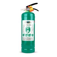 水基灭火器家用车用消防认证国标2L升绿色环保型车载水基型灭火器