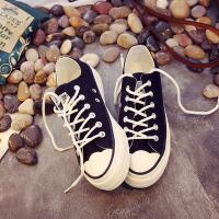 环球  小白鞋夏季女2017新款百搭韩版帆布鞋平底原宿休闲鞋学生板鞋