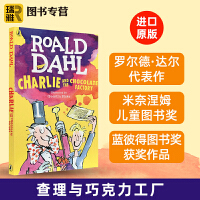 英文原版 Charlie and the Chocolate Factory 查理与巧克力工厂roald dahl罗尔
