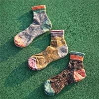 运动袜男士篮球袜子中筒袜防臭男袜毛巾底袜潮冬
