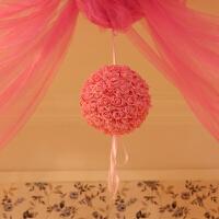 婚庆用品婚房布置纱幔拉花 新房婚庆婚礼布置装饰套餐结婚礼花球