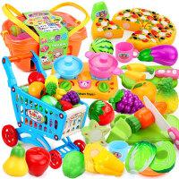 【支持礼品卡】儿童玩具男切水果玩具切切套装仿真蔬菜女孩1-2-3岁过家家3-6周岁h2s