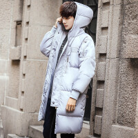 2017冬装新款中长款棉衣男加肥加大码面包服韩版潮胖保暖棉袄外套