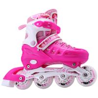 溜冰鞋儿童全套装单直排轮滑鞋初学者男女成年旱冰鞋滑冰