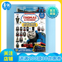【预订】托马斯和他的朋友们人物百科全书 Thomas & Friends DK出版英文精装