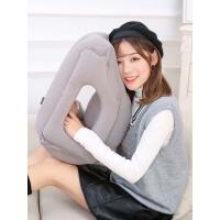 飞机旅行枕护颈枕充气U型枕便携u形抱枕高铁睡觉靠枕头趴睡枕