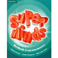 英音版剑桥小学英语教材 Super Minds Level 3 Workbook 练习册带网上资源