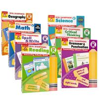 Evan Moor Skill Sharpeners Pre K 美国加州幼儿园练习册 技能卷笔刀 Reading m
