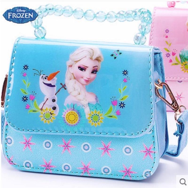 迪士尼儿童包包公主斜挎包女童双肩背包单肩手提时尚礼物宝宝小包