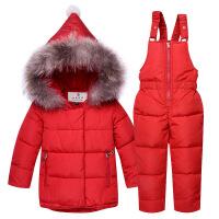 反季宝宝羽绒服套装女男0-1-3岁潮冬季韩版儿童内胆羽绒裤两件套