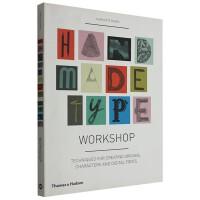 Handmade Type Workshop 手工工作室 字体字型设计 平面设计书籍