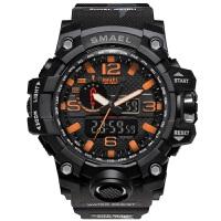 新款户外军表迷彩运动防水双显男士手表多功能LED电子手表