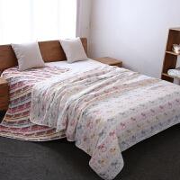 六层纱布纯棉毛巾被单双人毛巾毯多功能儿童婴儿午睡毯空调被床单
