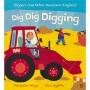 Dig Dig Digging 挖掘机快挖 垃圾车 救援直升机科普 幼儿英语绘本 韵文 儿童睡前故事亲子读物 英文原版进口图书