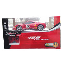 儿童遥控车模仿真玩具充电版法拉利跑车赛车电动1:18男孩模型玩具车礼物