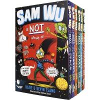 【首页抢券300-100】Sam Wu Is Not Afraid Of 山姆不是胆小鬼 6册盒装 趣味章节桥梁书 童年