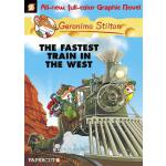 【预订】Geronimo Stilton Graphic Novels #13 The Fastest Train I