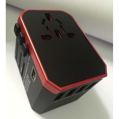多功能转换插头插座转换器通用4USB 发货周期:一般在付款后2-90天左右发货,具体发货时间请以与客服协商的时间为准