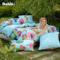 Dohia 多喜爱 全棉印花床品套件 晴海 1.8m 189元包邮(需用券)