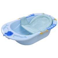 婴儿洗澡盆宝宝感温浴盆新生儿用品儿童可坐可躺沐浴盆加厚泡澡桶