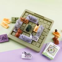 儿童桌面游戏丛林空间感益智类分析推理森林动物冒险挑战逃生玩具