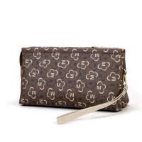 手拿包女小包手抓包大容量手包钱包女手包新款h 深啡色