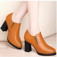 莱卡金顿新款女鞋高跟时尚百搭休闲低帮女单鞋春夏季潮鞋子女JBBN1493