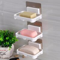 浴室壁挂式肥皂盒吸盘香皂盒免打孔沥水肥皂架卫生间香皂架