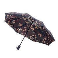 自动伞遮阳伞折叠雨伞男全自动迷彩伞晴雨两用雨伞三折伞