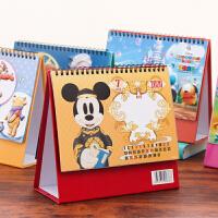 2020年台历迪士尼卡通立体吸塑日历可爱桌面月历记事本可定制logo