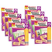 美国加州教辅技能铅笔刀系列 Evan-Moor 语法和标点练习册8册 Skill Sharpeners Grammar