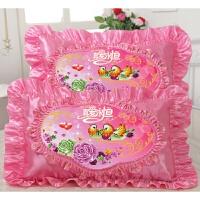 十字绣枕头5d精准印花结婚庆礼抱枕 情侣枕头套真爱永恒一对 一对枕套+一对枕芯 备注款式