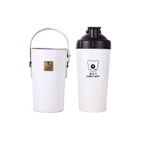 【限时秒杀】杯具熊(BEDDYBEAR)能量保温杯碱性矿物质不锈钢水壶健康杯泡茶杯700ml 白色