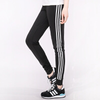 Adidas阿迪达斯 女子 运动休闲长裤 针织小脚长裤BK2623