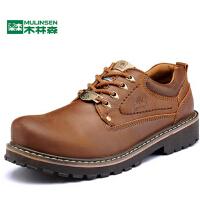 大头真皮鞋厚底板鞋子男鞋秋冬季工装鞋男士日常休闲鞋英伦