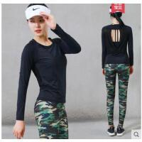 瑜伽服三件套跑步裤显瘦瑜珈衣装健身房服两件运动