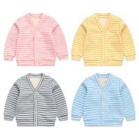 男女宝宝长袖外套新款秋冬季婴儿童保暖男童女童上衣外穿