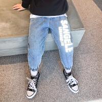 男童牛仔裤春装新款童装儿童裤子中大童男孩长裤