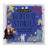 【首页抢券300-100】Five Minute Bedtimes Stories 五分钟故事系列 英语睡前故事童谣 英