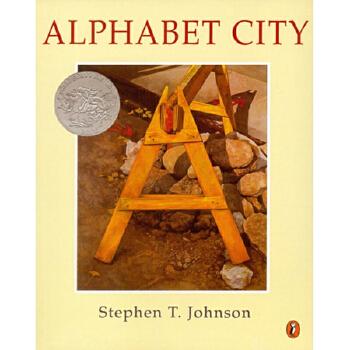美国进口1996年凯迪克银奖绘本 Alphabet City 城市ABC平装想象力训练思维拓展城市字母学习2-6岁宝宝适读童书绘本